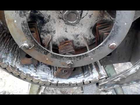 Зернодробилка молотковая своими руками