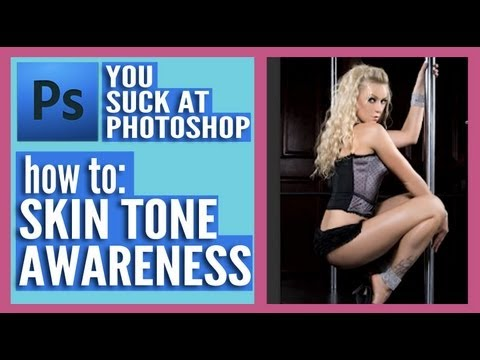 You Suck at Photoshop - Skin Tone-Aware Selection