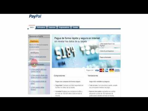 Cómo abrir una cuenta en PayPal