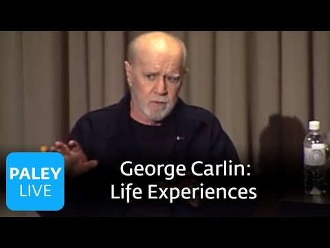 George Carlin - Life Experiences (Paley Center, 2008)