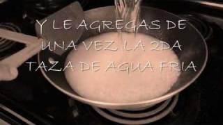 Como hacer un arroz perfecto