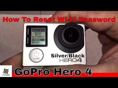 How To Reset Wi-Fi Password Gopro Hero 4 Silver / Black