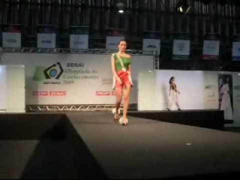 Desfile SENAI - Olimpíada do Conhecimento