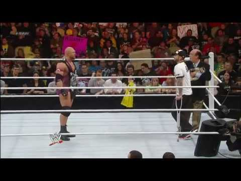 WWE Raw 12/24/12 Full Show Ryback Reveals He Will Face CM Punk In A TLC Match On First Of Raw 2013
