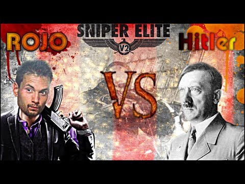 ROJO VS. HITLER w Sniper Elite V2: DLC (Roj-Playing Games!) 18+