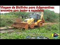 VIAGEM DE BICILINHA - ENCONTRO COM TRATOR E ROÇADEIRA - COMPLETO - 16/02/2013