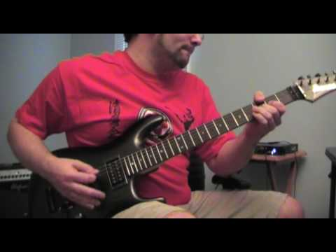 The Call of Ktulu (guitar cover, all original recording)