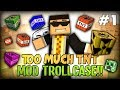 Minecraft Mods / Mod Trollcase - TOO MUCH HILARIOUS LAUGH (Too Much TNT MOD)