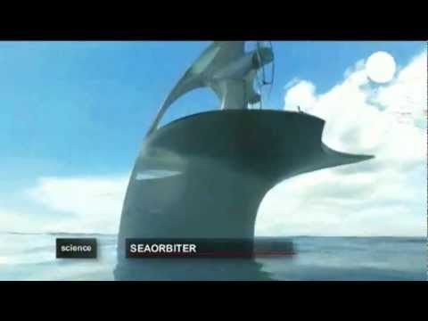 EURONEWS - SeaOrbiter - The vessel on and under the oceans - En