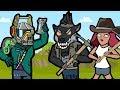 Original Fortnite Animation | Stream Sniping DJ Llama | The Squad