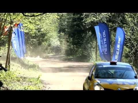Rally Talsi 2012 best jumps SS6