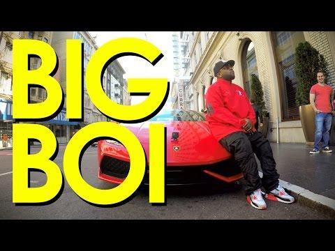 GoPro Music: Off the Record Ep. 1 – Big Boi Drives a Lamborghini