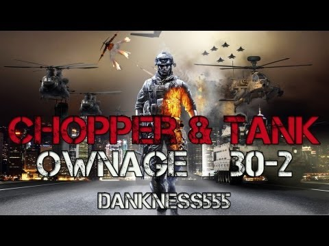 BF3 - Chopper And Tank Gameplay 30-2
