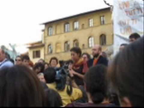 Margherita Hack a Firenze