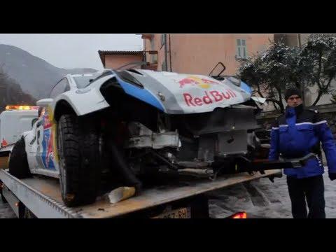 Jari-Matti Latvala crashes out on final day of Rallye Monte-Carlo 2013