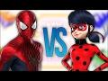 ЛЕДИ БАГ VS ЧЕЛОВЕК ПАУК | СУПЕР РЭП БИТВА | Spiderman ПРОТИВ Miraculous Ladybug