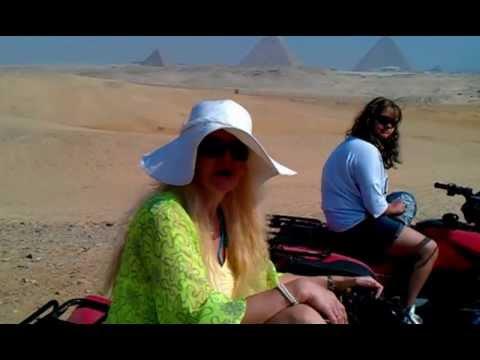 Quad Safari Ausflug bei den Pyramiden