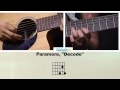 How To Play Decode By Paramore On Guitar