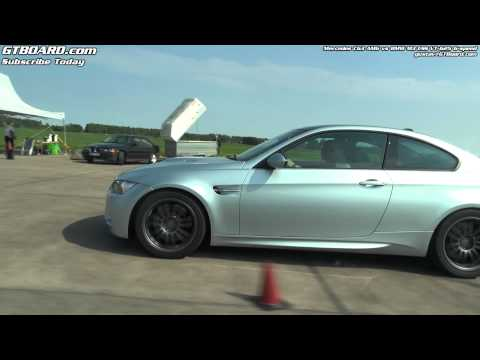 Mercedes C63 AMG vs ESS BMW M3 VT-625 manual