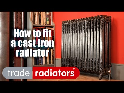 Watch Jimmy Fit a Cast Iron Radiator