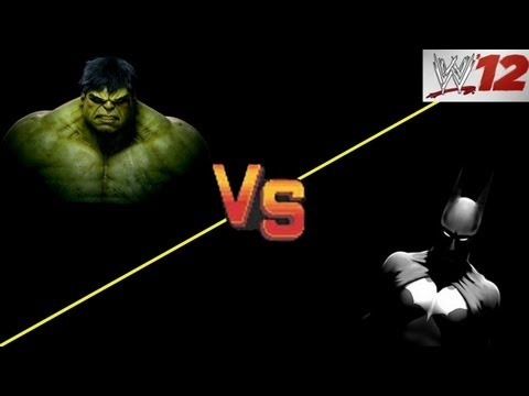 WWE 12: CAW ARENA - Batman VS The Incredible Hulk
