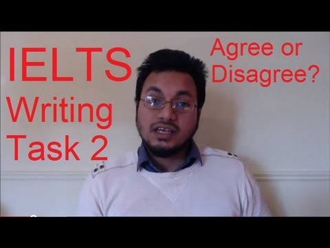 IELTS Writing Task 2 Format Structure Tips Agree Disagree Argument Essay 8.5 scorer SYED