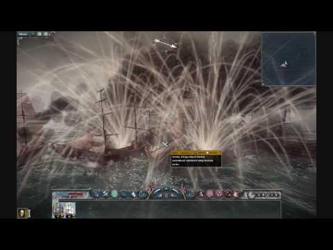 Napoleon Total War:Naval Battle Gameplay HD