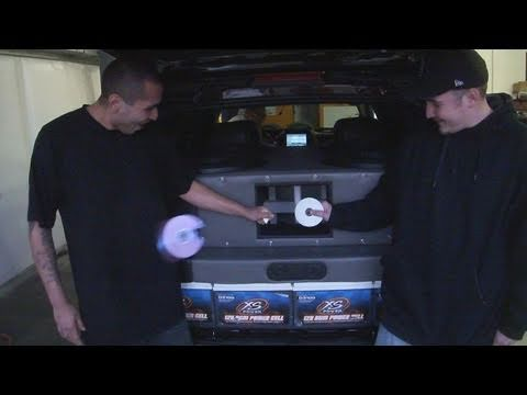"The CD Challenge - 4 18"" SMD Woofers + Ported Box Powered by Rockford Fosgate"