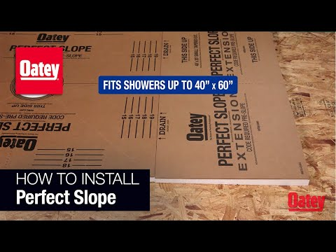 Oatey Perfect Slope Installation Video