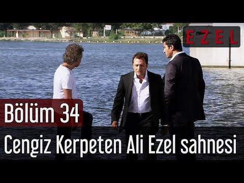 Ezel - Ezel 34.Bölüm Cengiz Kerpeten Ali Ezel Sahnesi