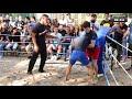 Фрагмент с начала видео Мелкий Боксерчик против Любителя ММА, Хороший Бой !!