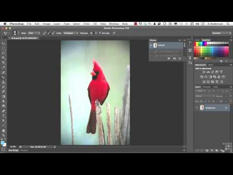 0 Adobe Photoshop CS6 Tutorial | Color Replacement | InfiniteSkills