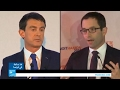 فالس وهامون يقودان اليسار الفرنسي إلى الجولة الثانية من الانتخابات التمهيدية