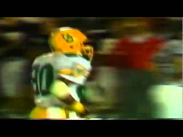 Oregon WR Sam Archer drops an easy touchdown vs. Arizona 11-12-1988