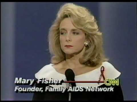"mary fisher a whisper of aids Analysis the traveling disease ""a whisper of aids"" was delivered by mary fisher, the hiv-positive daughter of thewealthy and powerful republican."