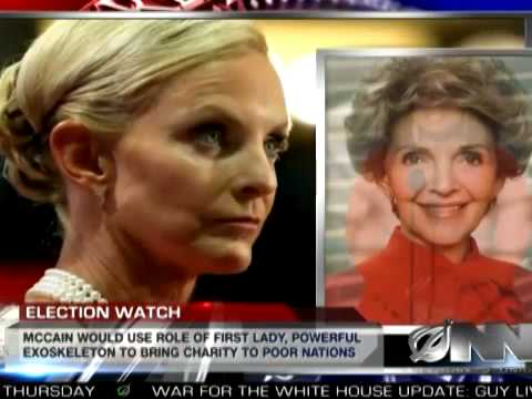 Cindy McCain Just Like Any Other Female Human-