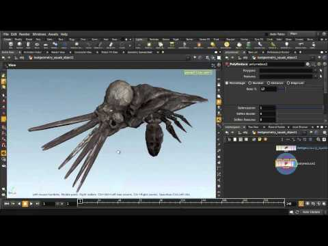 Houdini | Poly Reduce