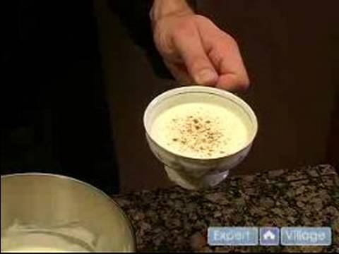 How to Cook Classic Christmas Meals : Traditional Eggnog Recipe