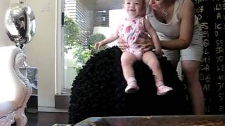 Baby playing on fluffy bouncy ball in Penthouse.AVI view on youtube.com tube online.