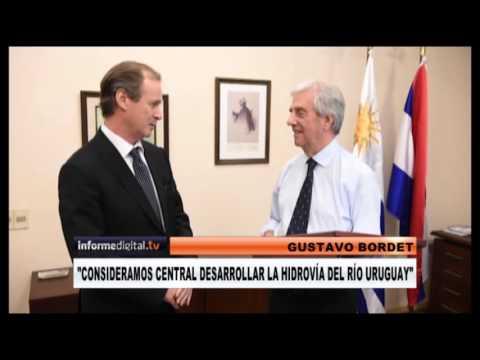 <b>Uruguay.</b> Bordet se reuni� con Tabar� V�zquez