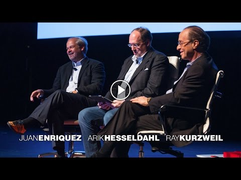 Unscripted: Ray Kurzweil & Juan Enriquez at TEDxSiliconAlley