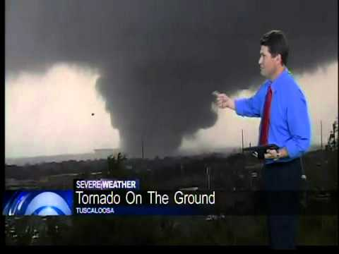 Tuscaloosa tornado caught on tape wreaking havoc - CBS 42 Birmingham, AL News We