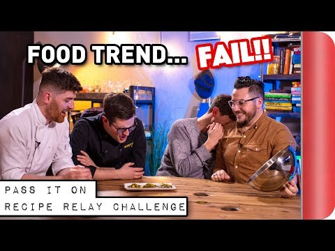 FOOD TREND Recipe Relay Challenge | Pass It On Ep. 6
