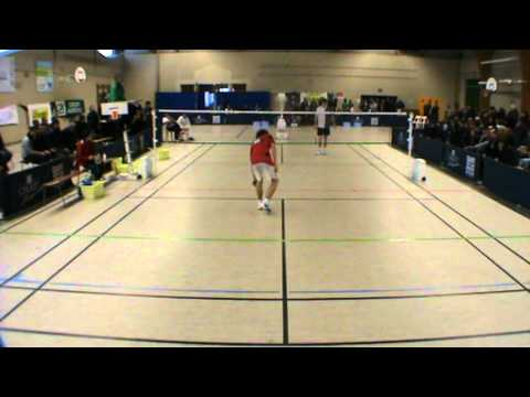 Badminton - Nationale 2 - Cholet /US Chartrons - Simple Homme 2