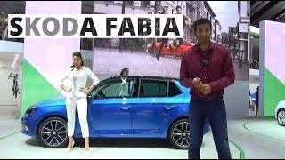 Paryż 2014 - prezentacja Skody Fabia