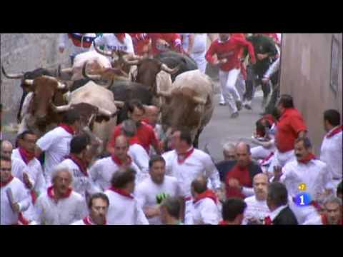 7º encierro San Fermines 13 7 11 Pilar de Tamames