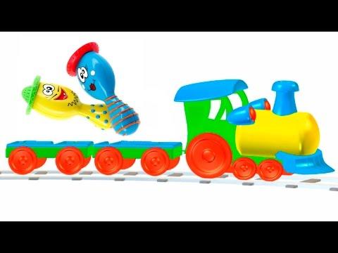 Развивающие мультфильмы и видео для детей, музыкальные инструменты игрушки для малышей
