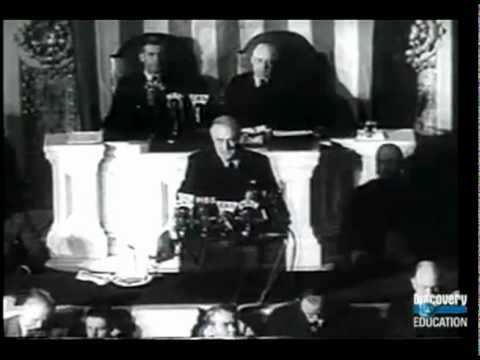 FDR's Day of Infamy Pearl Harbor Speech