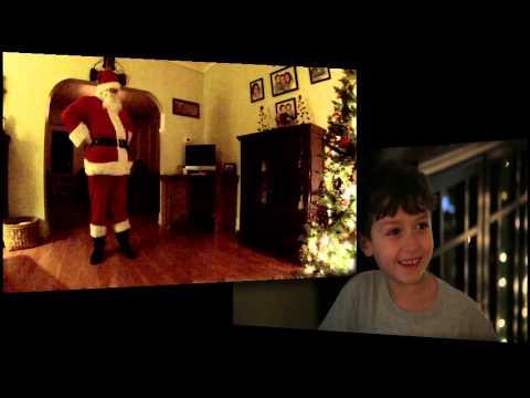 Santa Claus Caught On Camera!