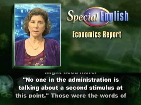 VOA Learning English - Economics Report # 397